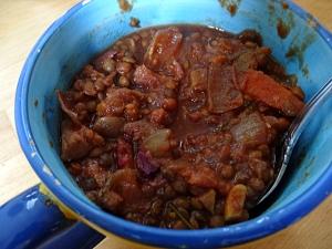 lentil chili