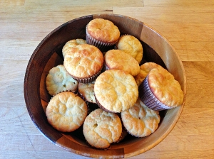 Corn-less Cornbread Mini Muffins for Cavemen