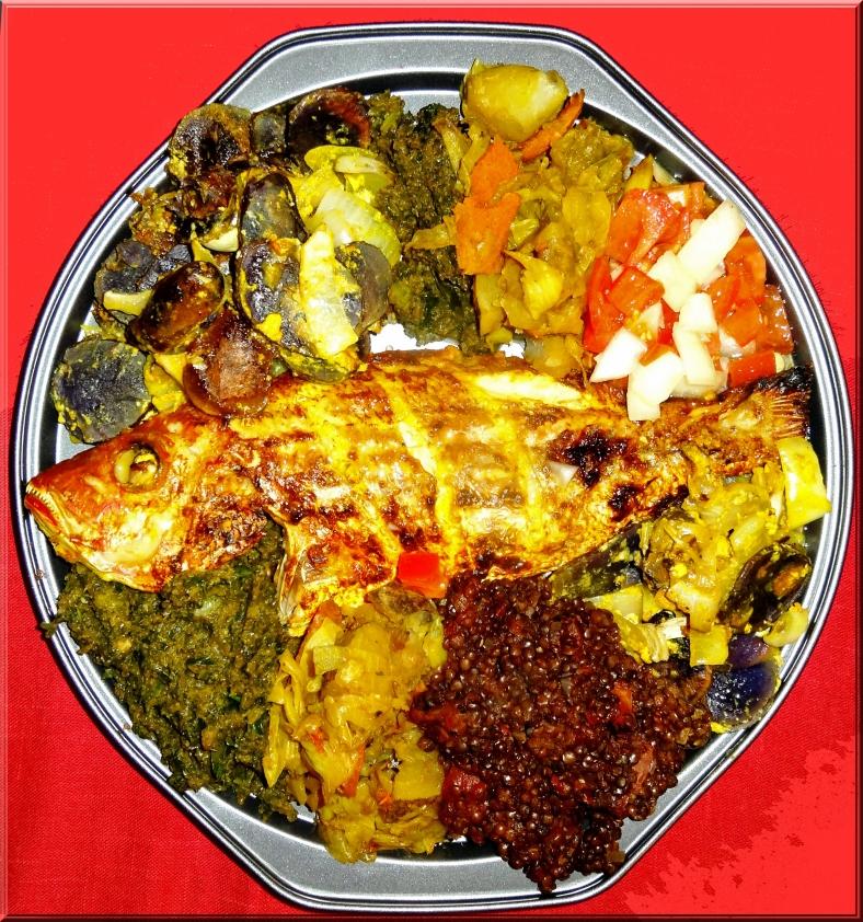Complete Ethiopian Meal sans Injera