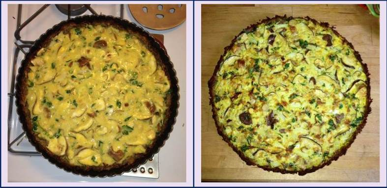 Before and After Cooking