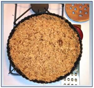 Uncooked Potato Pie Shell